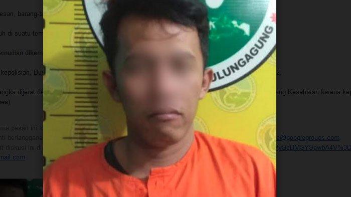 Edarkan Sabu-sabu dan Pil Koplo, Residivis di Tulungagung Ini Kembali Ditangkap