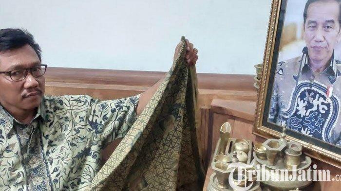Tak Menyangka Batik Gedog Karyanya Dipakai Presiden Jokowi, Zaenal: Suatu Kebanggaan