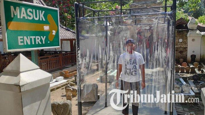 Sambut New Normal, Yayasan Mabarrot Sunan Bonang Tuban Siapkan Bilik Disinfektan Bagi Peziarah