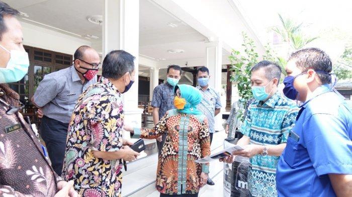 Sinergi Pemkab Jombang dan Mpoin demi Cegah Corona, Dapat Bantuan 15 Tangki Air Anti Virus