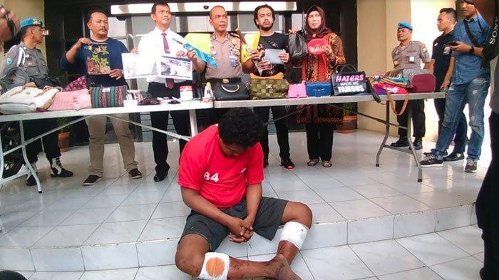 Akibat Ulah Kedua Jambret di Lakarsantri Surabaya, Tulang Kaki Korban Patah