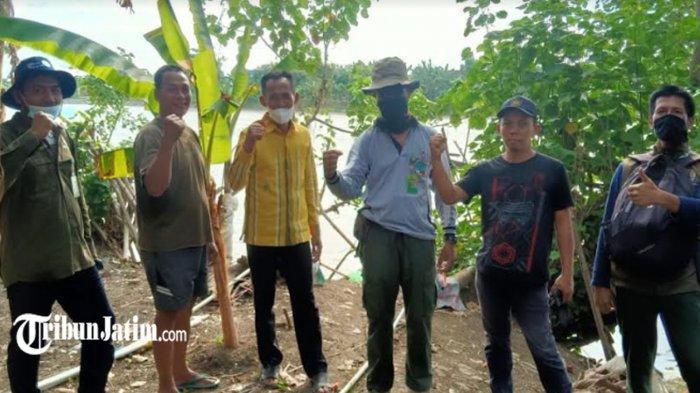 Buaya Muncul di Sungai Bengawan Solo Wilayah Desa Lamongan, BKSDA Perkirakan ini Penyebabnya