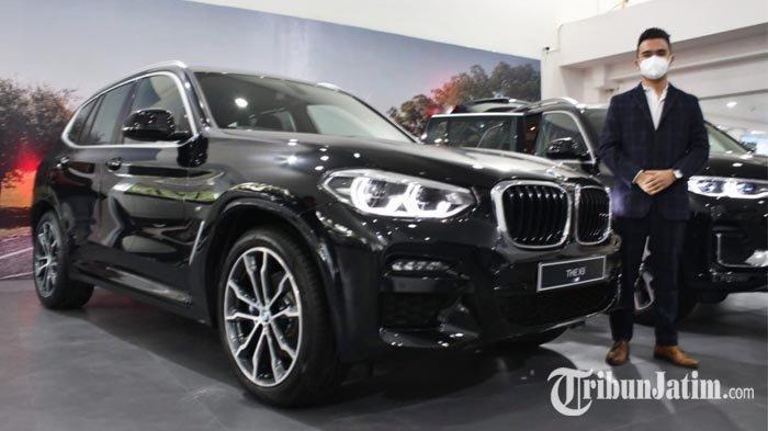 Dibandrol 1,3 M, New BMW X3 Resmi Mengaspal di Jatim, Lebih Sporty Berkat DNA BMW M