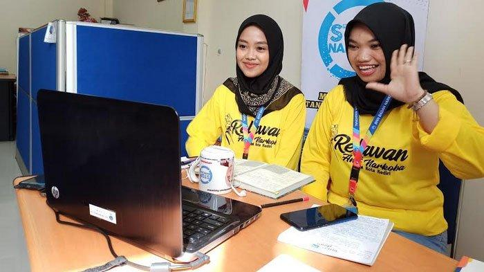 BNN Kota Kediri Gelar Kelas Online di Tengah Pendemi Corona, Edukasi Milenal Produkif Tanpa Narkoba