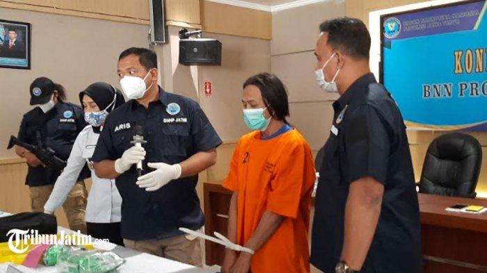 Kurir Narkoba Bawa 1,646 Kilogram Sabu dari Jakarta ke Madura, Dipaket dalam Kemasan Teh Guaniyiwang