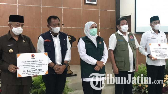 Dana Tunggu Hunian untuk Korban Gempa Bumi di Malang dan Lumajang Cair, Totalnya Rp 3,5 Miliar