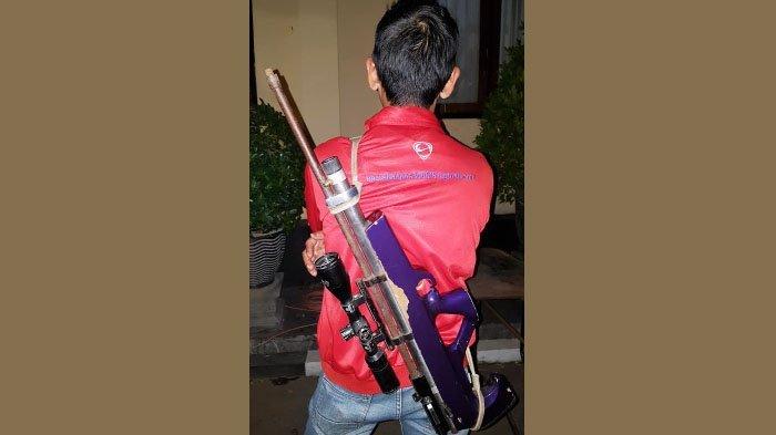 SW, Pria Pemberani yang Tembak Pelaku Teror Bom Pasuruan dengan Senapan Berburu