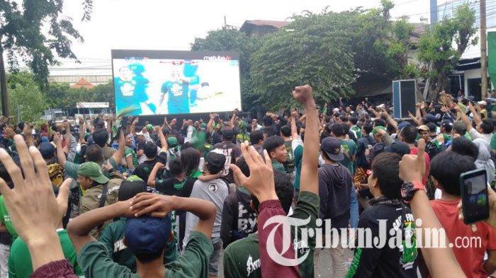 Polresta Malang Kota Gelar Nobar Final Piala Gubernur 2020