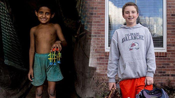 Sedih, Lihat 10 Foto Perbandingan Anak Orang Kaya dan Miskin Saat Tunjukkan Mainan Kesukaan Mereka