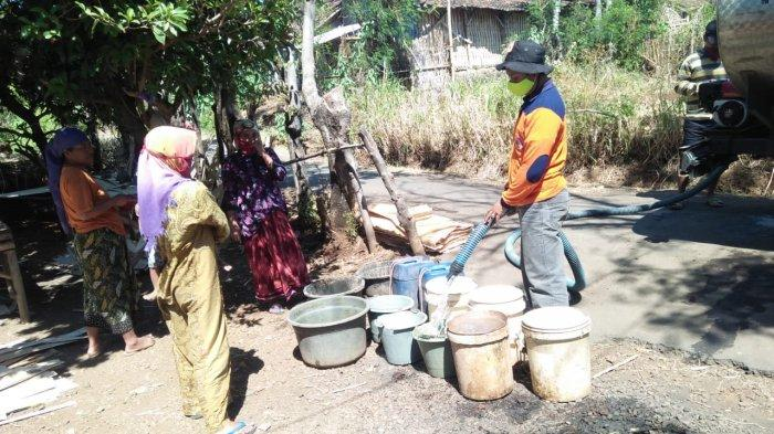 BPBD Kabupaten Probolinggo Mulai Distribusikan Air Bersih
