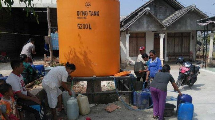 Kemarau Panjang, Kekeringan Melanda 25 Desa di 10 Kecamatan di Tuban