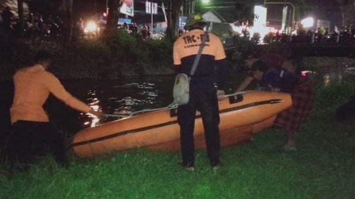 Heboh Remaja Lumajang Hilang saat Mandi di Sungai, Tim Rescue BPBD Kesulitan Temukan Tubuh Korban