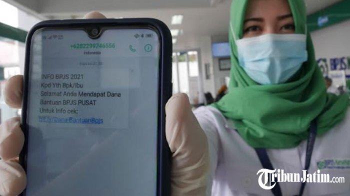 WASPADA! SMS Penipuan Bantuan Dana dari BPJS Kesehatan, Kepala KC Kediri: Cermati Laman Resmi