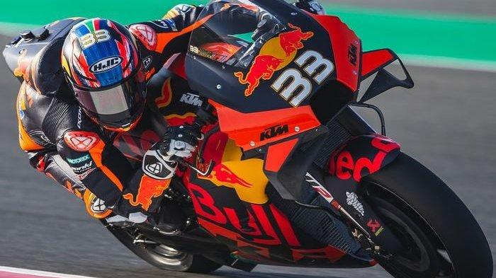 Drama MotoGP Austria 2021: Modal Nekat Brad Binder, Marquez Jatuh dan Rossi Finis 10 Besar