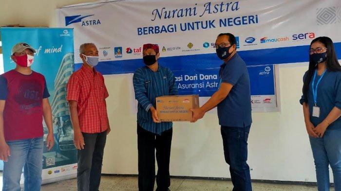 Asuransi Astra Malang Salurkan 125 Paket Sembako, Bantu Masyarakat di Tengah Pandemi Covid-19