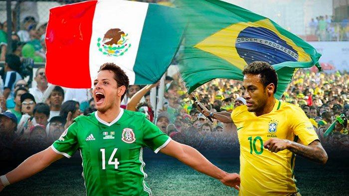 Brasil vs Meksiko Malam ini, Berikut Perkiraan Starter, Statistik, dan Bursa Prediksi Kedua Tim