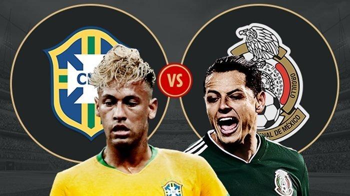 Prediksi Piala Dunia 2018 Brasil Vs Meksiko, Tim Samba Lebih Diunggulkan