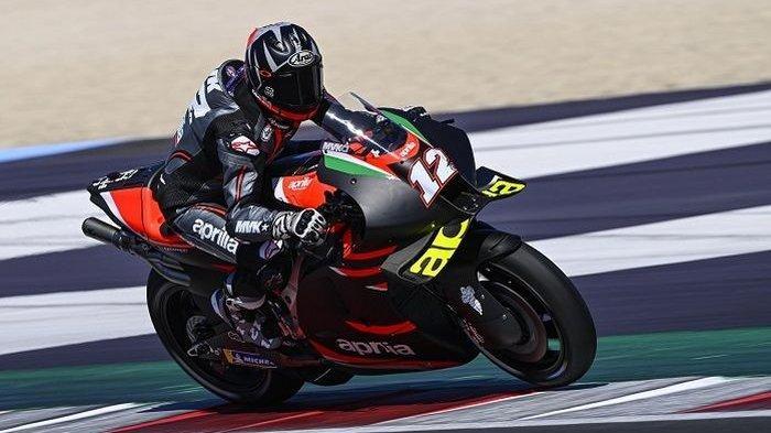 Resmi, Maverick Vinales Debut Balapan Bareng Aprilia di MotoGP Aragon 2021