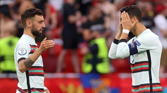 Hasil Hungaria Vs Portugal - Ronaldo Cetak Brace, Selecao Menang 0-3, CR7 Pecahkan Rekor Platini