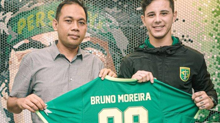 Alasan Bruno Moreira Kenakan Nomor Punggung 99 di Persebaya Surabaya