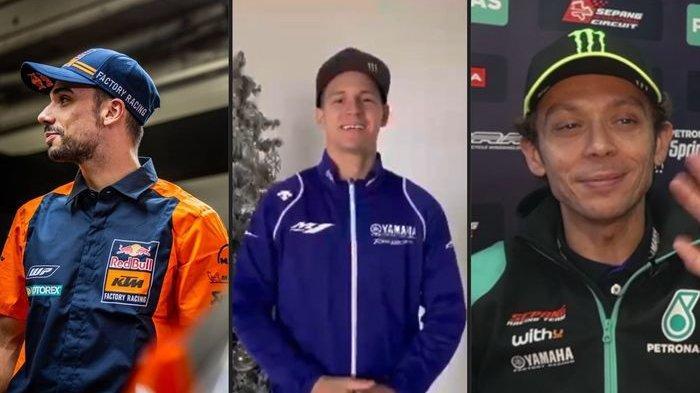 Tak Hanya Valentino Rossi, Fabio Quartararo dan Miguel Oliveira Juga Pamer Seragam Baru