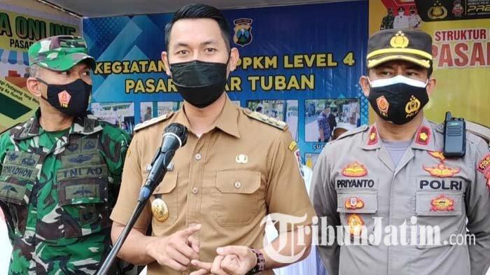 PPKM Level 4 Dilanjutkan, Bagaimana Penerapannya di Tuban? Begini Penjelasan Bupati Lindra