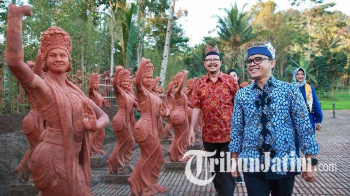 Taman Gandrung Terakota Banyuwangi Diresmikan 20 Oktober 2018, Hadirkan Keindahan 1000 Patung Penari
