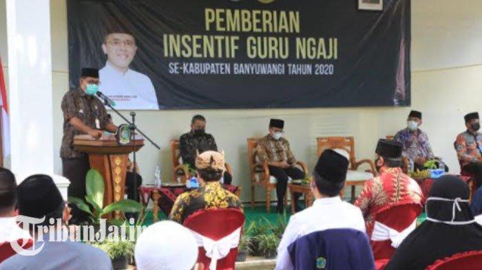 Insentif Guru Ngaji Banyuwangi Cair, Naik dari Rp 500.000 Menjadi Rp 700.000