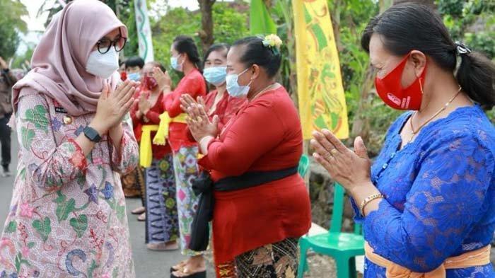 Jalin Harmoni di Banyuwangi, Bupati Ipuk Fiestiandani Bersilaturahmi dengan Tokoh Lintas Agama