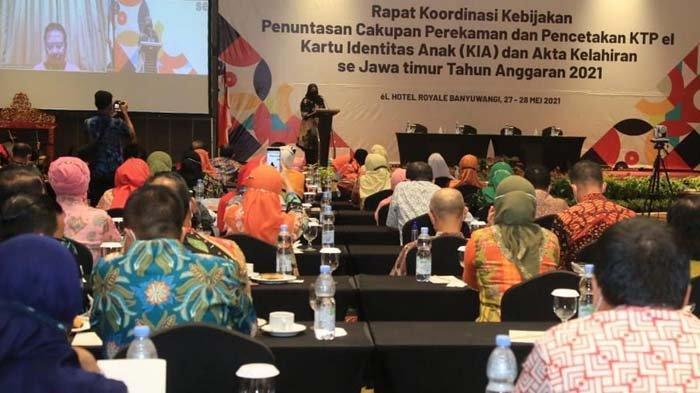 Punya Banyak Inovasi, Banyuwangi Dipilih Jadi Lokasi Rakor Adminduk se-Jawa Timur