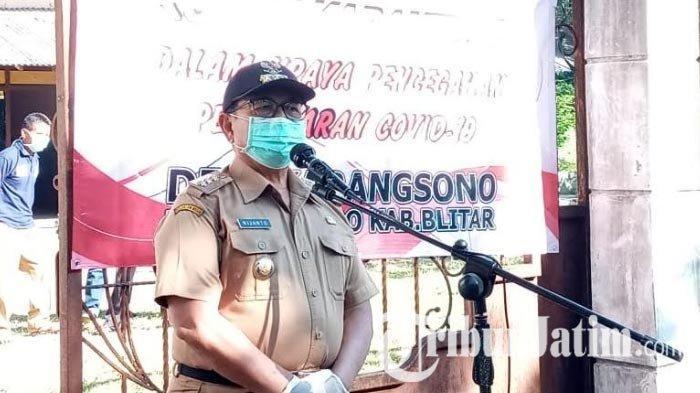 Kondisi Sehat, Bupati Rijanto Lepas 11 Warga Blitar dari Jakarta yang Jalani Karantina