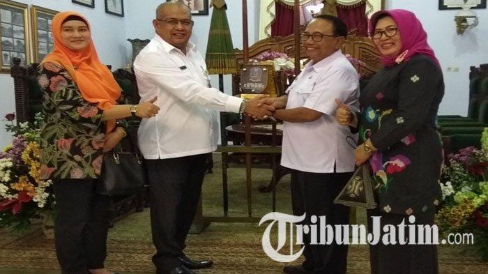 Terima Kunjungan Kepala Bakorwil III Jatim, Bupati Blitar Rijanto Bahas Program Percepatan Ekonomi