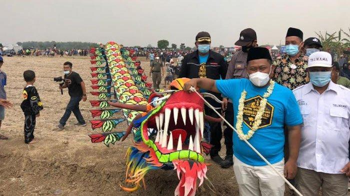 Meriahnya Festival Layang-Layang di Balongpanggang Gresik, Layangan Naga Dianggap Paling Sakral