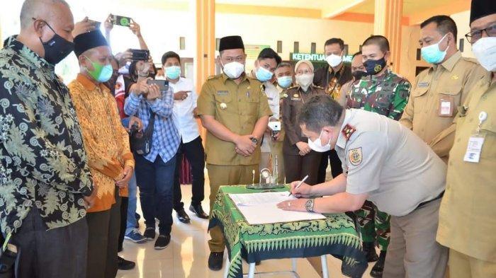 Pembayaran Ganti Rugi Pembebasan Lahan Kali Lamong di Cerme Ditargetkan Tuntas September