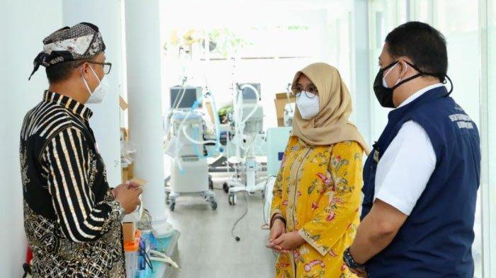 BOR Terus Meningkat, Bupati Ipuk Keliling Rumah Sakit di Banyuwangi, Tambah Tempat Tidur