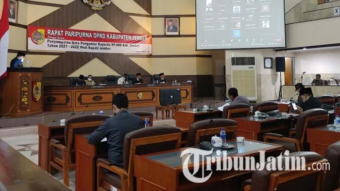 Pembahasan Raperda RPJMD Jember Tahun 2021-2026 Terlambat dari Jadwal, DPRD Memaklumi