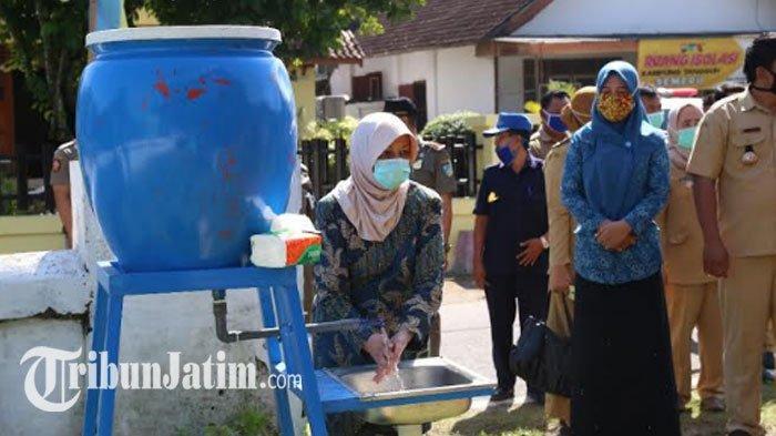 Warga Ngancar Kediri Sulap Balai Tak Terpakai Jadi Pusat Kampung Tangguh, Ada Ruang Isolasi Covid-19
