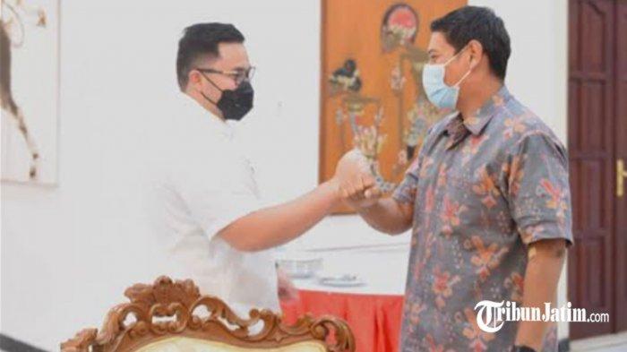 Bincang Santai Wali Kota Mas Abu dan Bupati Hanindhito, Bahas Kolaborasi Bangun Kediri