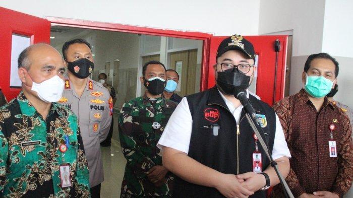 Bupati Kediri Mas Dhito Launching Gedung VVIP Penanganan Covid-19 dan Telemedicine Pasien Isoman