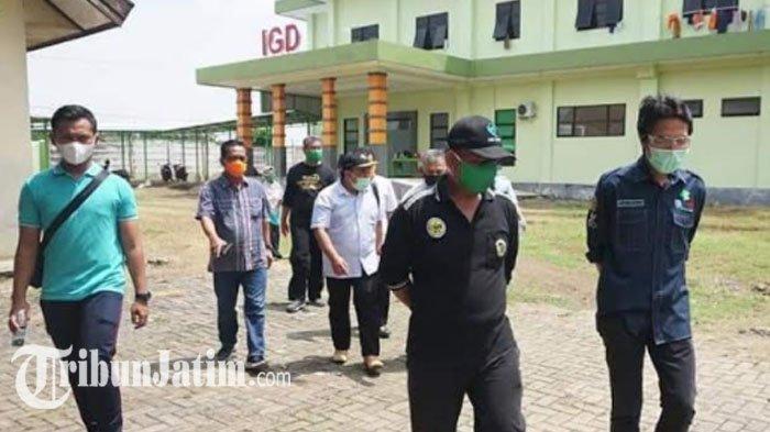 Jumlah Kasus Covid-19 di Kabupaten Meningkat, Bupati Madiun Sidak Dua RSUD