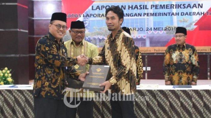 Laporan Keuangan Pemerintah Daerah Kabupaten Madiun Dapat WTP ke Enam Kalinya