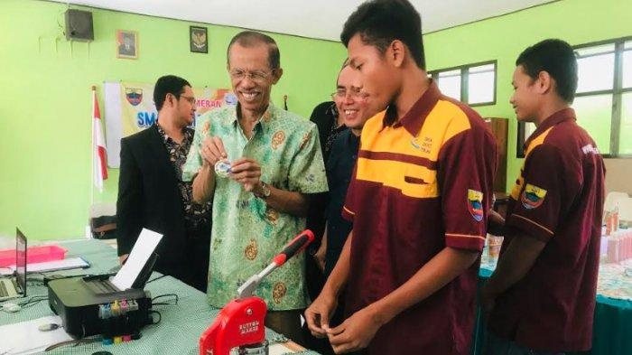 Antusiasme SMAN 1 Plaosan Magetan Ikut Program Double Track, Siswa Dibekali Keterampilan & Wirausaha
