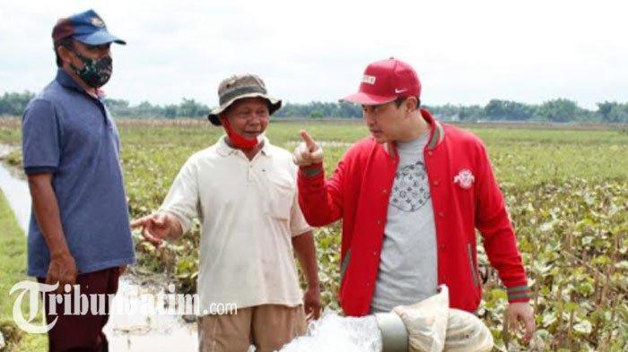Selesaikan Persoalan Pertanian, Bupati Nganjuk Nekat Terjun Langsung ke Persawahan Temui Petani