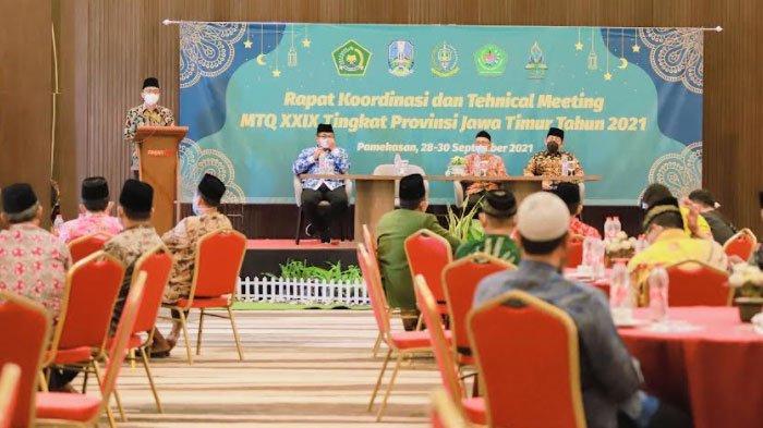 Bupati Pamekasan Promosikan Potensi Batik Tulis saat Technical Meeting MTQ XXIX Tingkat Jawa Timur
