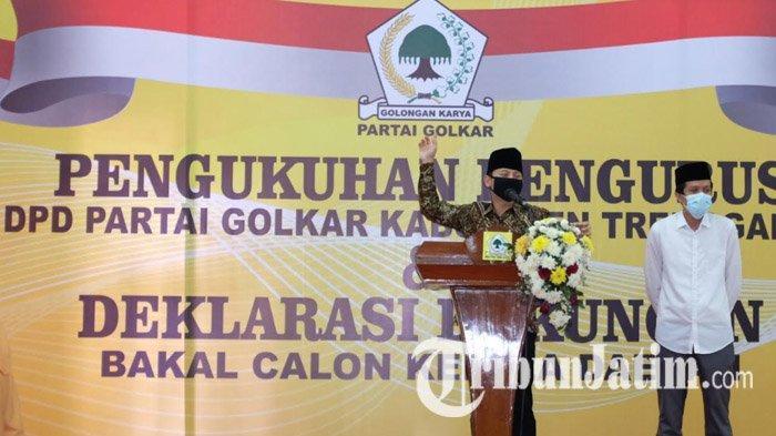 Tujuh Partai Merapat, Dukungan ke Petahana Mochamad Nur Arifin di Pilkada Trenggalek 2020 Makin Kuat