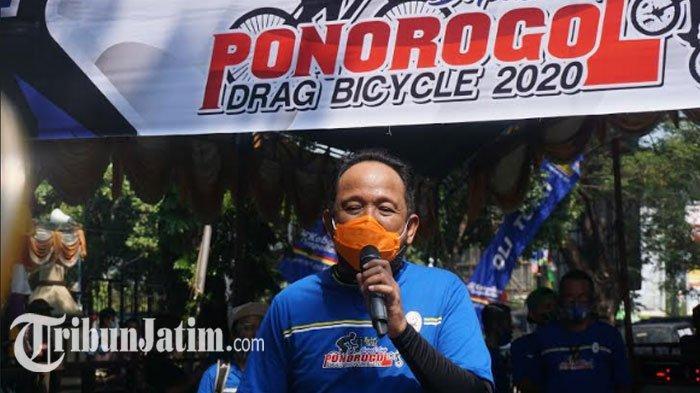 Bupati Cup Ponorogo Drag Bicycle 2020 Resmi Dibuka, Ipong Muchlissoni Apresiasi: Jaga Jaraknya Oke