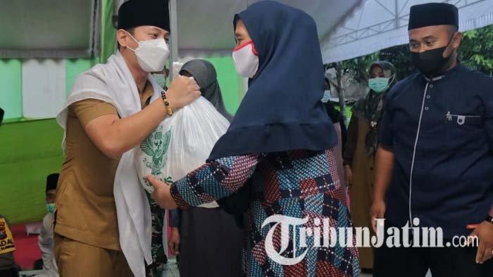 Safari Ramadan 2021 di Desa Kamulan, Bupati Trenggalek Mas Ipin Ajak Warga Tetap Waspada Covid-19