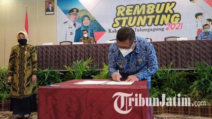 2.901 Anak di Tulungagung Menderita Stunting, Pemkab Anggarkan Lebih dari Rp 300 M untuk Penanganan