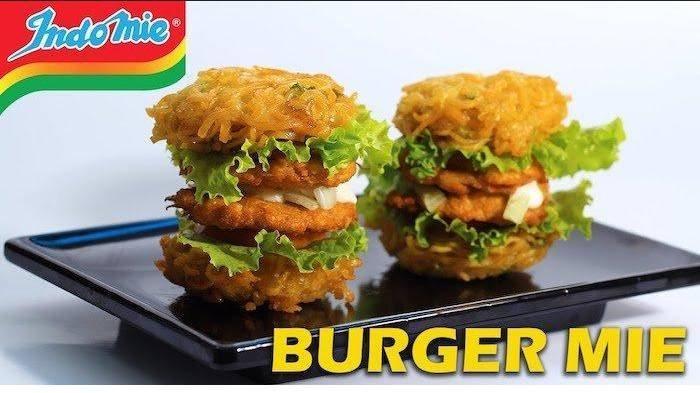 4 Resep Kreasi Indomie Kekinian Cocok Buat Anak Kos, Ada Burger Indomie Goreng hingga Popcorn Mi