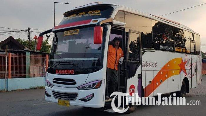Potret Terminal Purabaya Seusai PSBB Berakhir, Bus Jurusan Blitar-Tulungagung Mulai Beroperasi